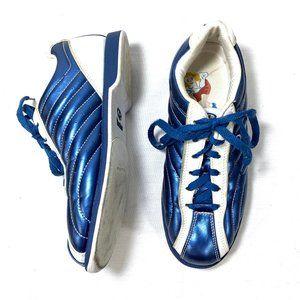 Dexter Bowling Shoes Blue Groove Slide Rite 6.5